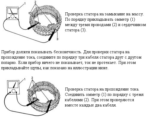 электрическая схема подключения стартера