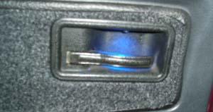 Подсветка ручек открывания дверей