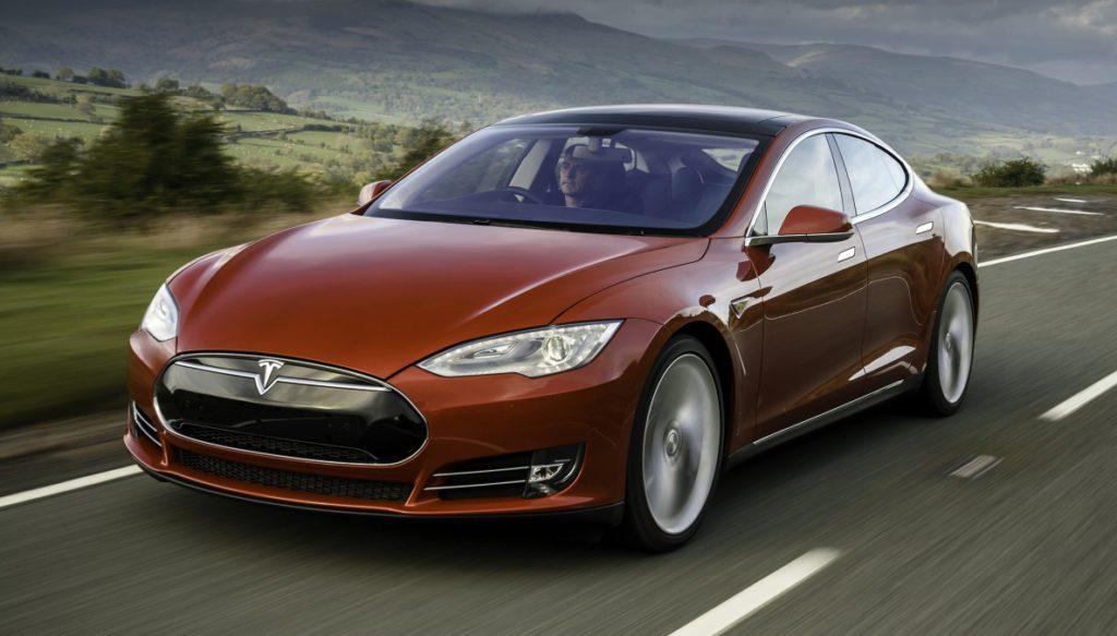 Tesla S экстерьер