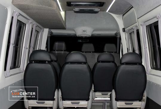 Переоборудование грузовых фургонов