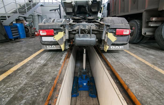Сервисное обслуживание грузовиков