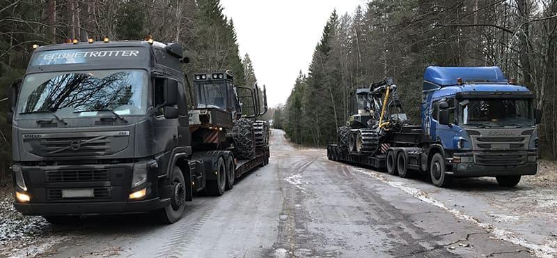 «ТРАЛ-МСК» - перевозка негабаритных грузов