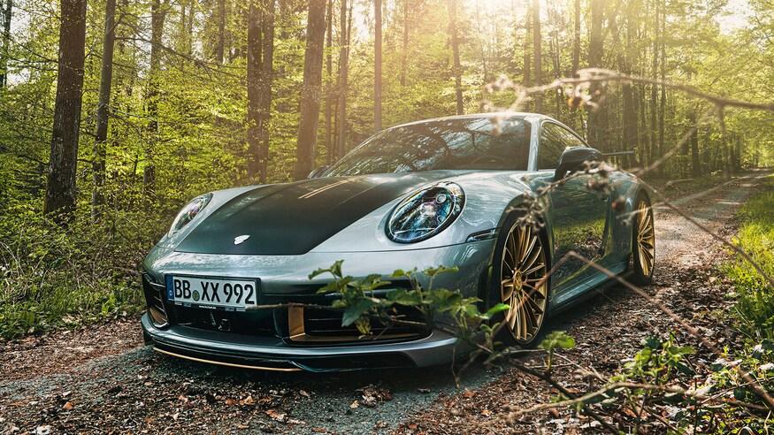 TechArt представляет обновленный Porsche Carrera 4S