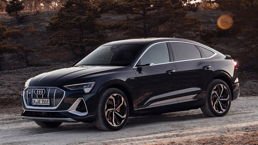Audi представляет электрический кроссовер E-Tron