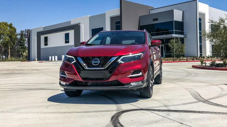 Nissan представляет обновленный Rogue Sport