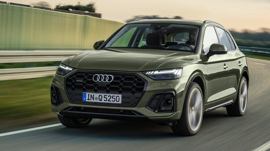Audi представляет обновленный кроссовер Q5