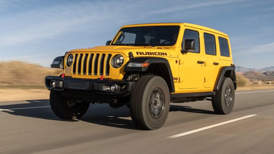 Jeep представляет дизельный Wrangler