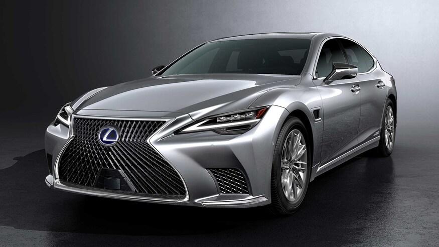 Lexus представляет обновленный LS Lands