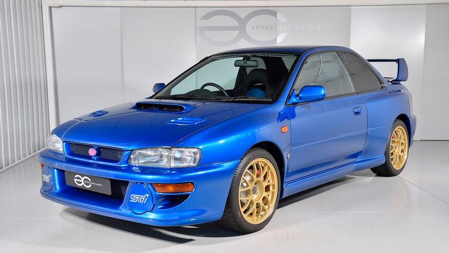 Subaru представляет обновленную Impreza 22B
