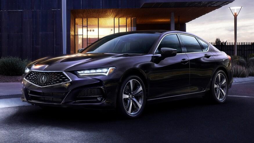 Acura представляет обновленный TLX