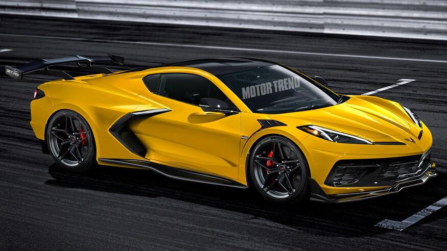 Chevrolet представляет обновленный Corvette Z06