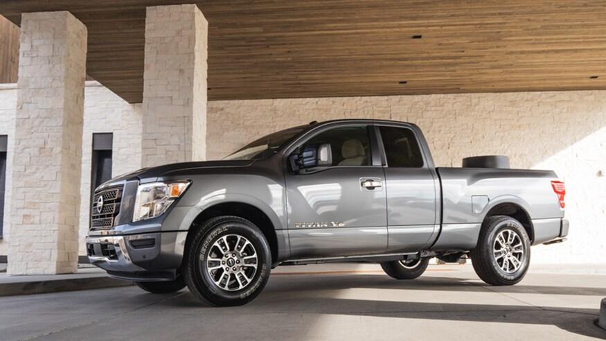 Nissan представляет обновленный Titan