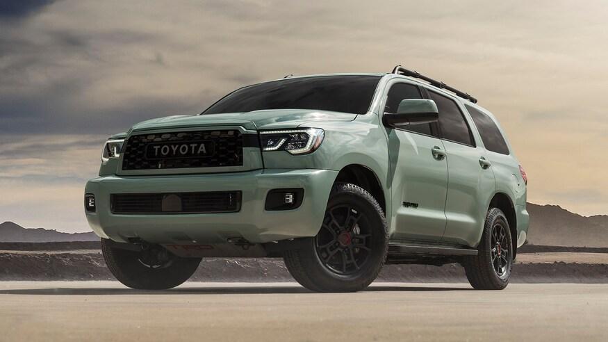 Toyota представляет обновленный внедорожник Sequoia