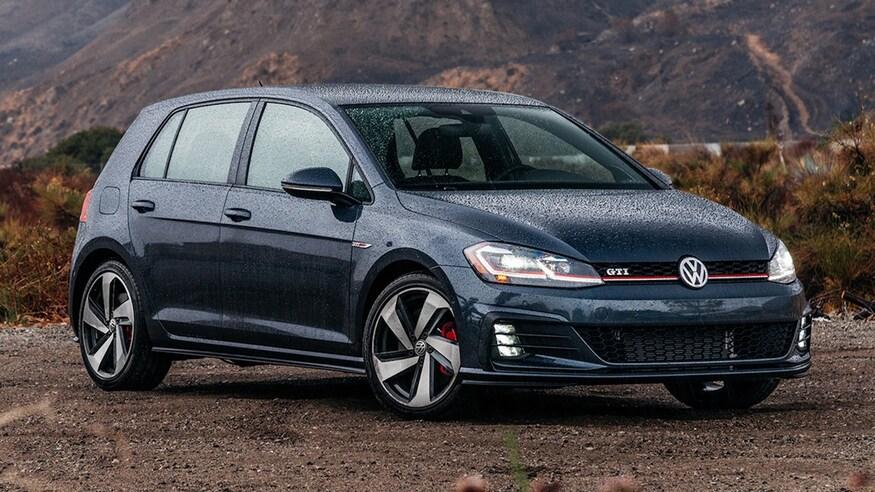 Volkswagen представляет обновленный Golf GTI