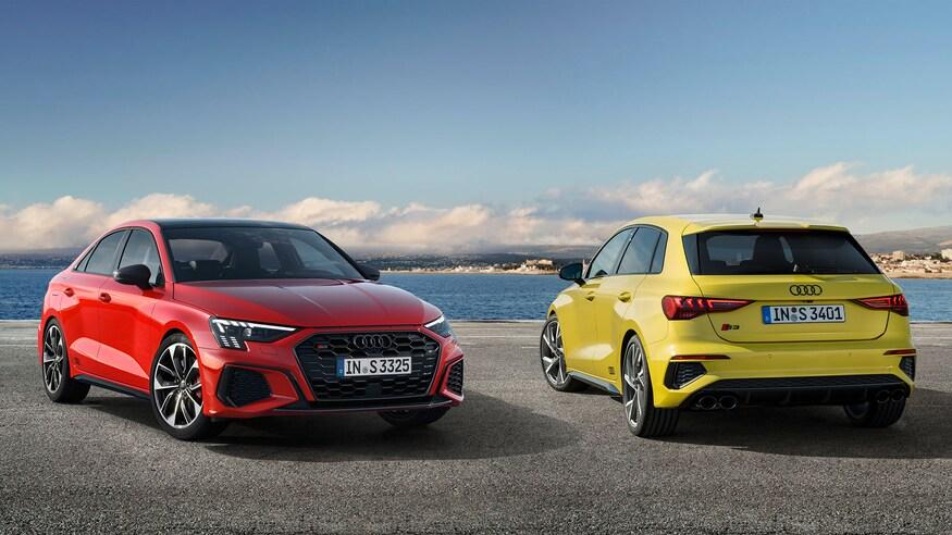 Audi представляет обновленную S3