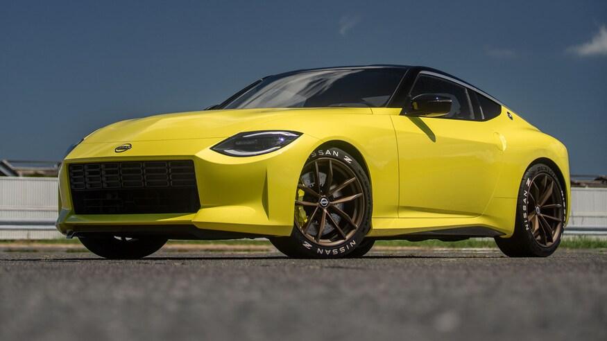 Nissan представляет обновленный Z Proto