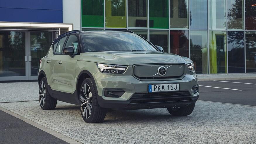 Volvo представляет электромобиль XC40 Recharge EV