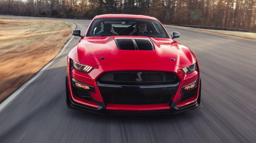 Ford представляет Mustang GT500